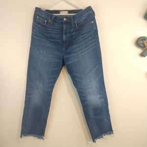 Madewell The Perfect Vintage Jean size 31